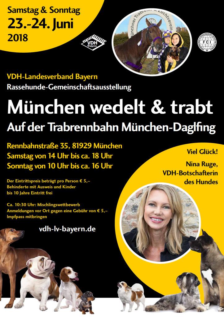 """München wedelt & trabt"" Gemeinschaftsausstellung 2018"